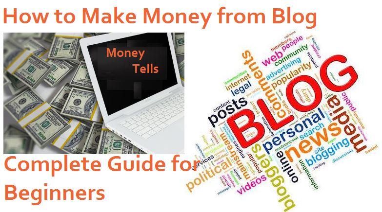 how do make money from blogging