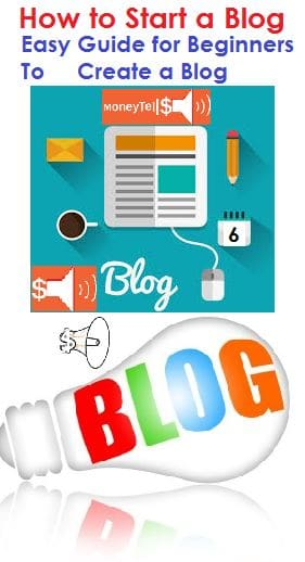 How to start a blog using beginners guide