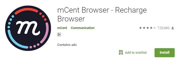 Best Mobile payment app- mCent