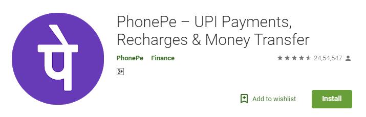 Money Making App PhonePe