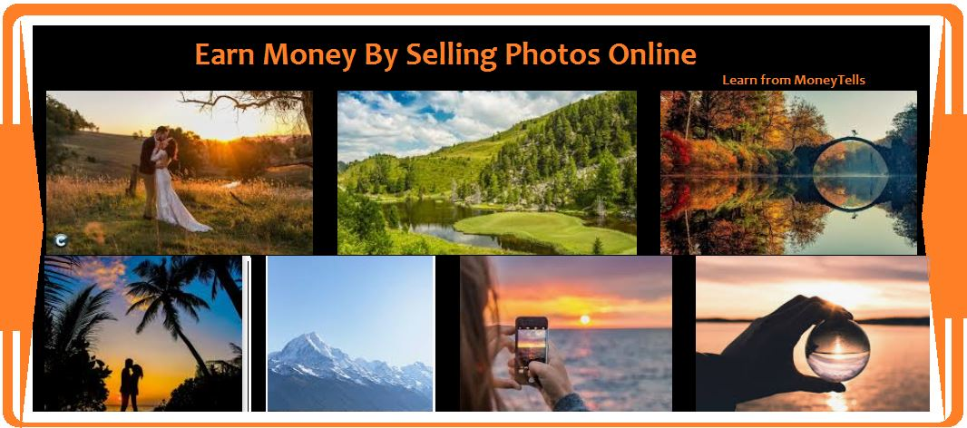Earn Money for selling photos online