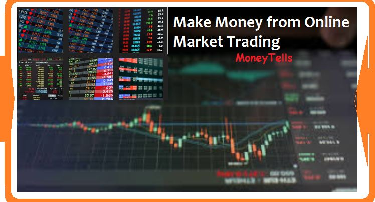 Earn money with online trading from home