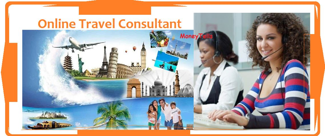 earn money as online travel consultant