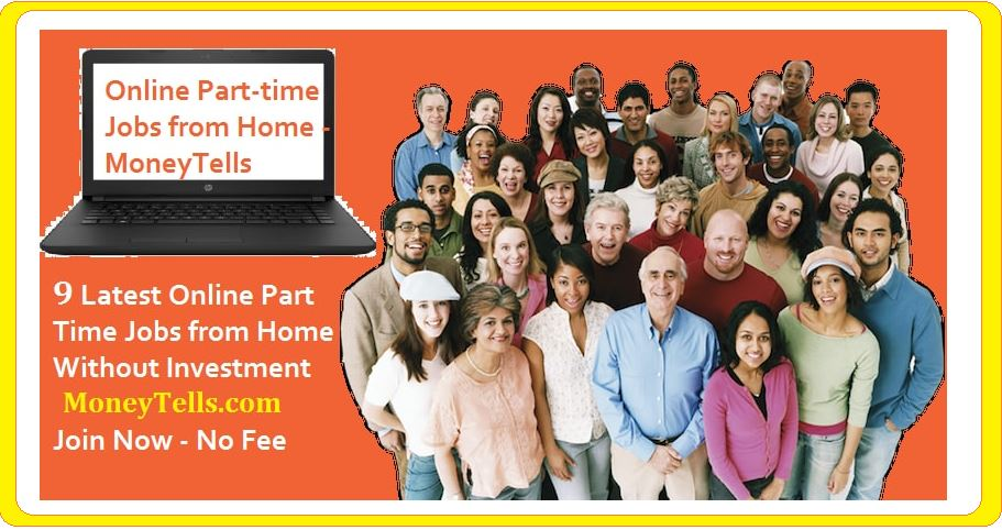 earn money from online part time jobs from home