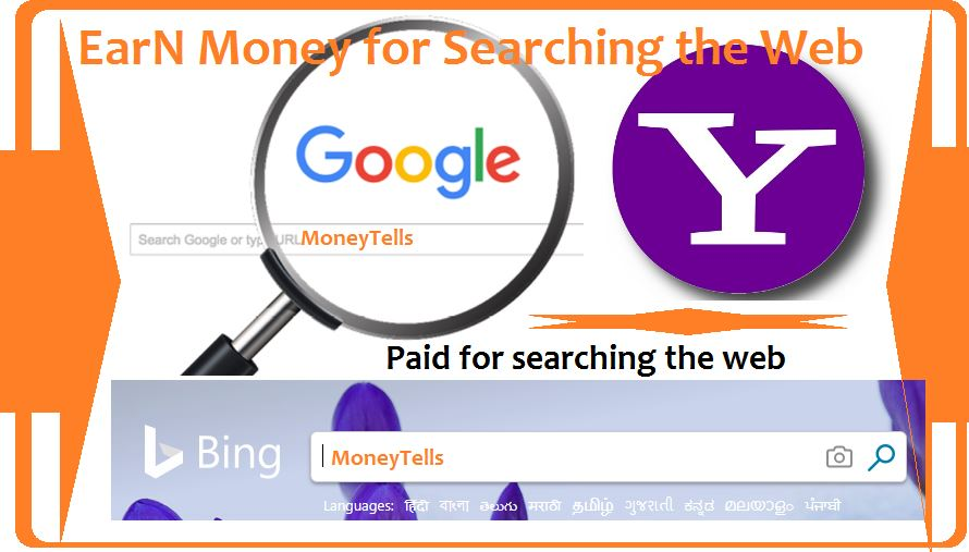 earn money online for searching web