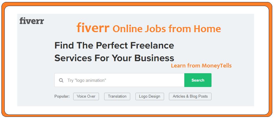 fiverr online jobs from home
