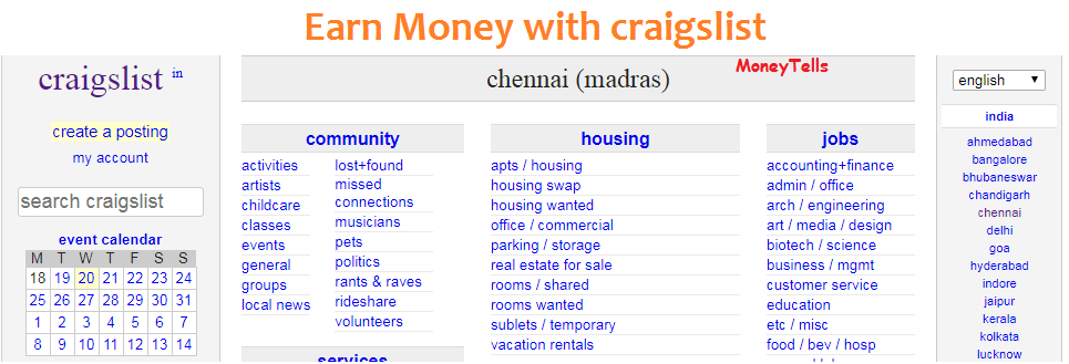 how to earn money with craigslist
