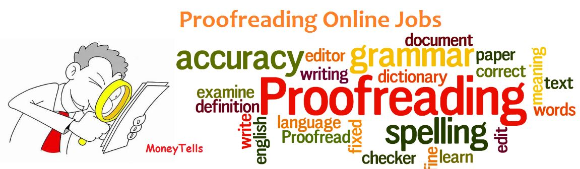 proofreading online jobs from home