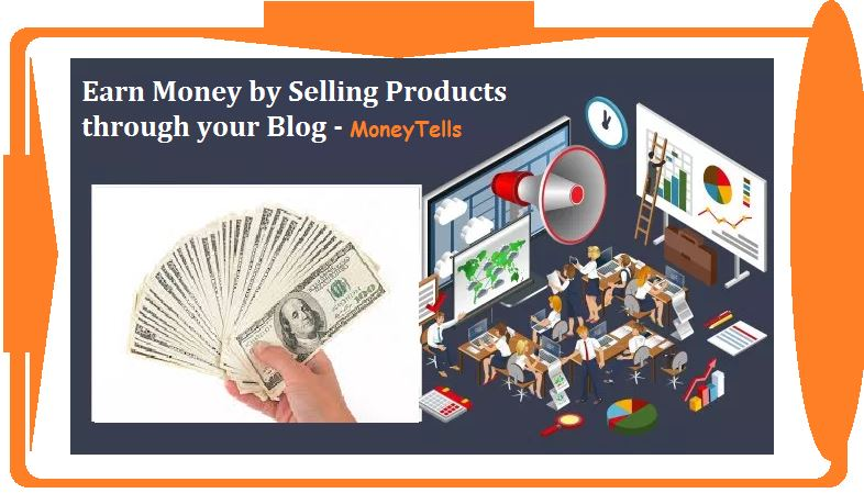 sell products through blog