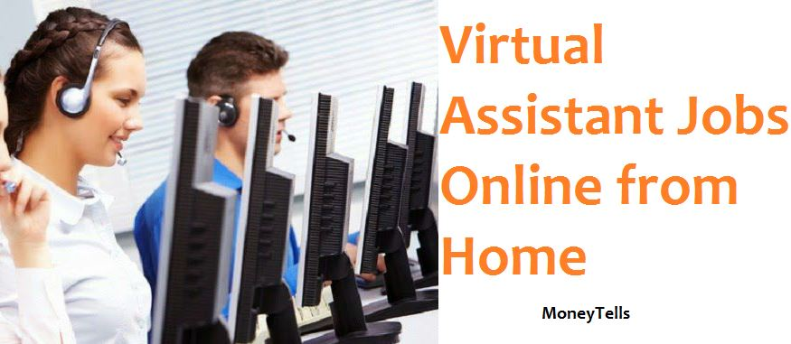 virtual assistant online jobs from home