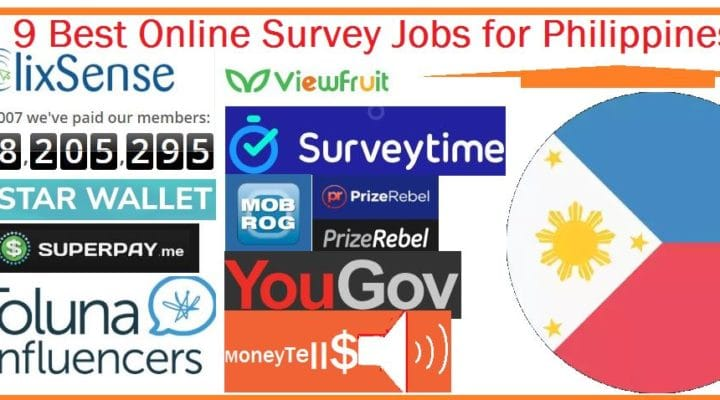 Online Survey Jobs for Philippines