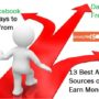13 Best Alternate Sources of Income to Earn Money from Home