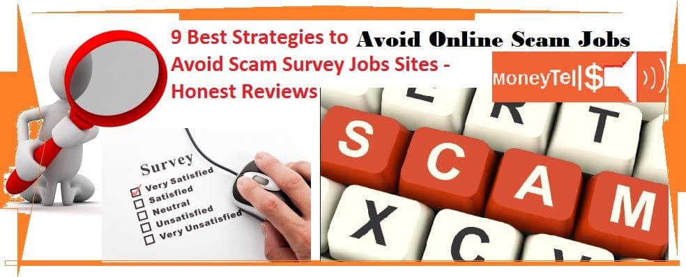 Avoid Scam survey jobs