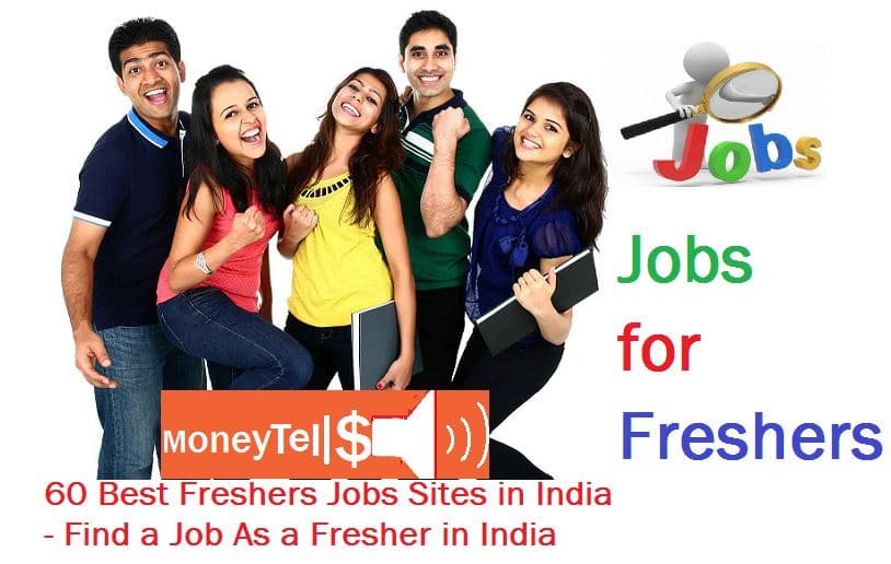 Freshers Job sites in India