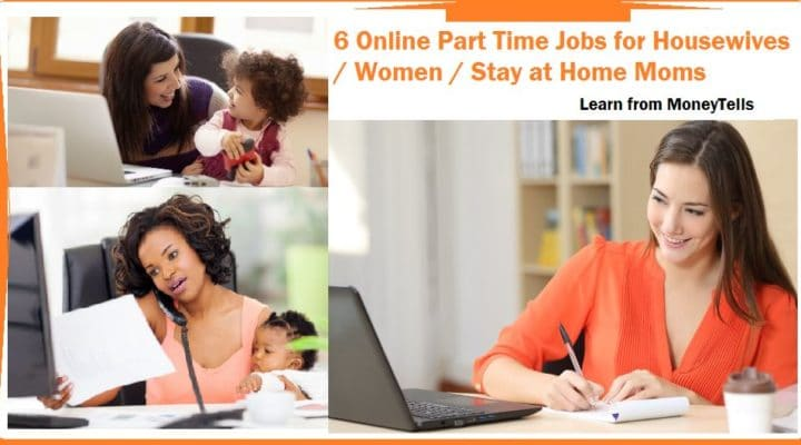 Online Part Time Jobs for Housewives
