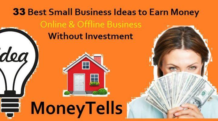 Small Business Ideas Online & Offline