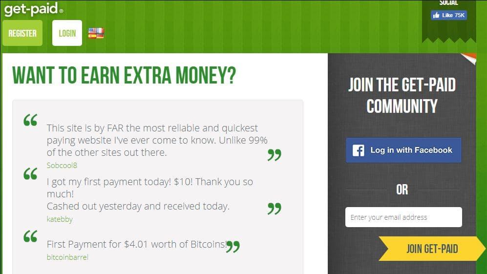 get-paid ptc site