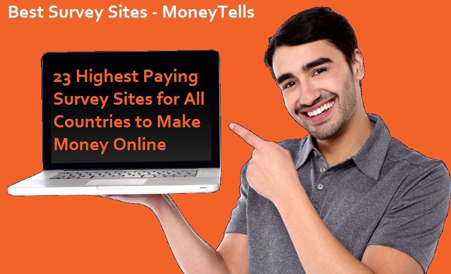 highest paying Survey Sites
