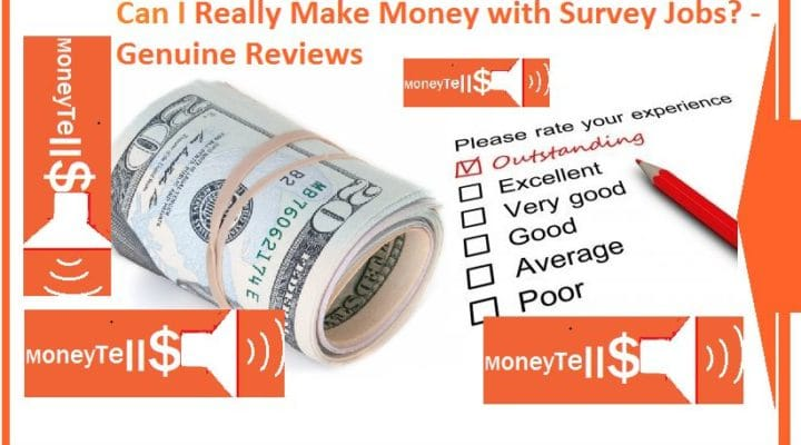really make money with survey jobs