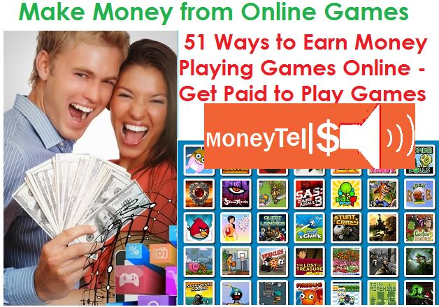 Earn money playing games