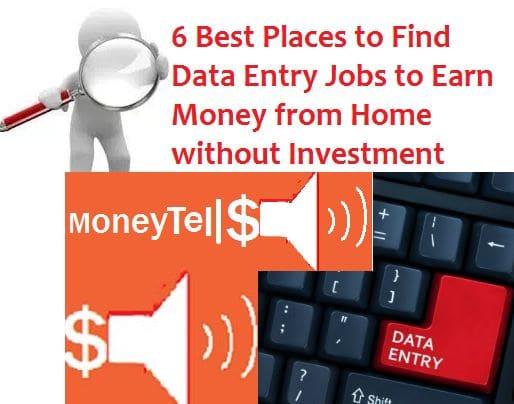 find data entry jobs
