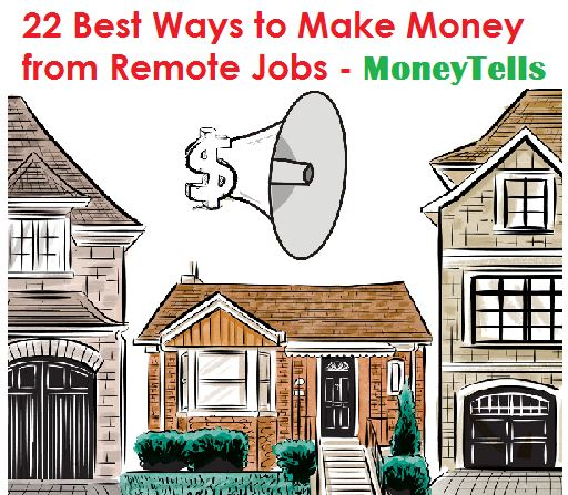 make money from remote jobs