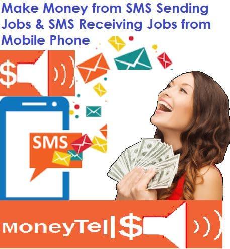 Make Money from SMS Sending Jobs