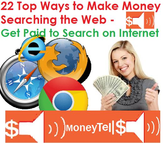 make money searching the web
