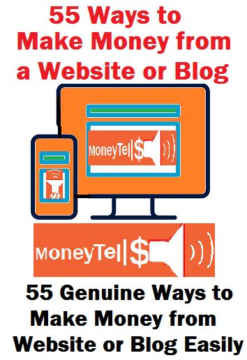 ways to make money from website
