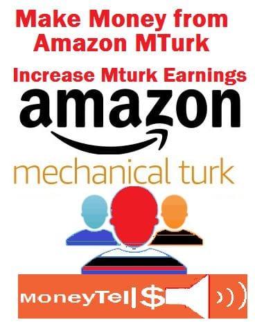 make money from amazon MTurk