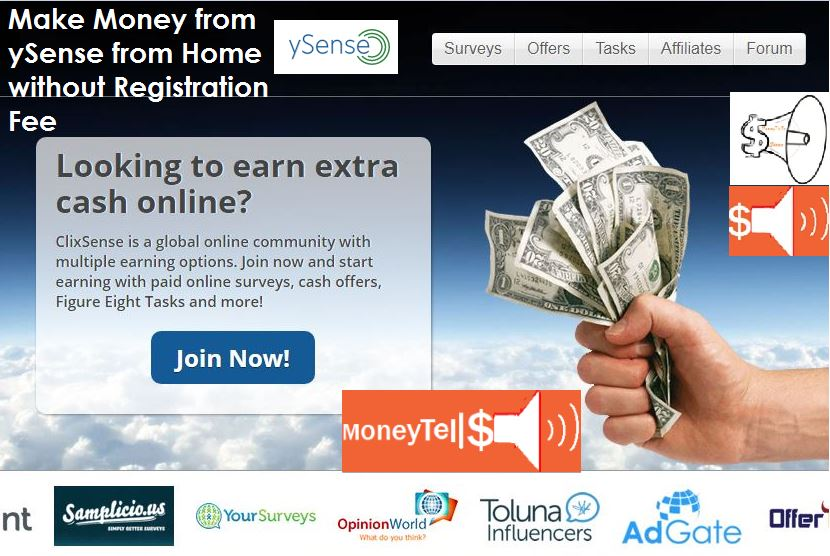 How to Make Money from ySense