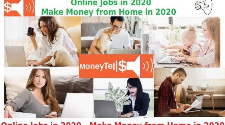Online Jobs in 2020