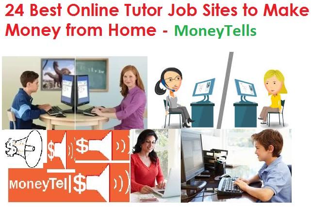 Online Tutor Job Sites