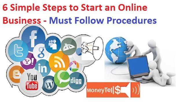 Start on online business