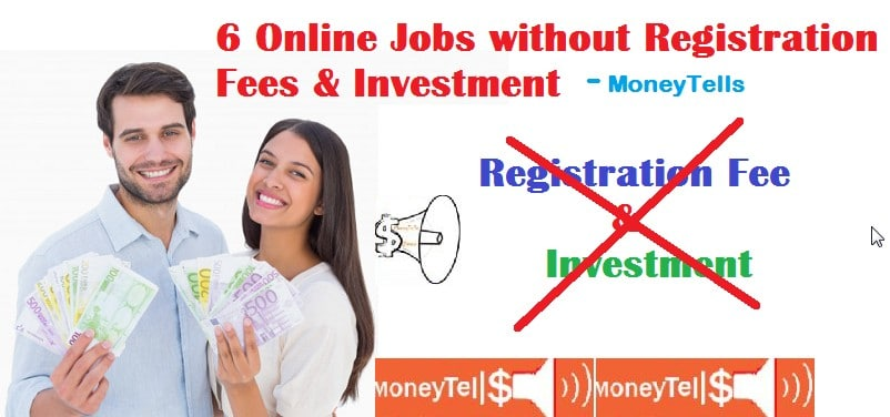 online jobs without registration fees