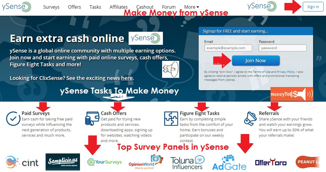 earn extra cash online