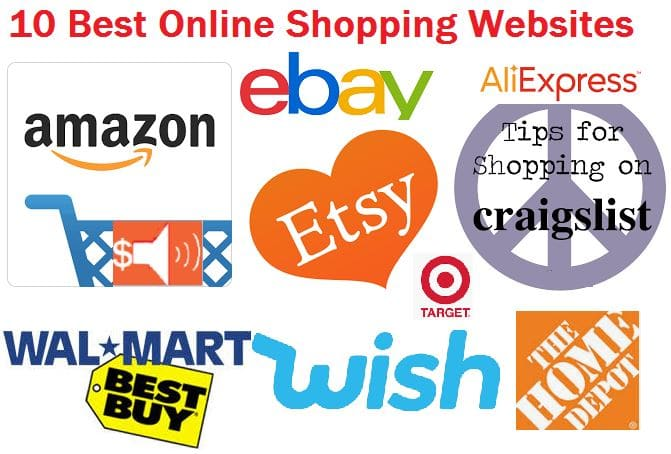 which website is best for online shopping
