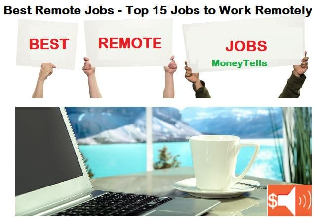 Legitimate Work From Home Jobs 2020.Best Remote Jobs Top 15 Jobs To Work Remotely In 2020