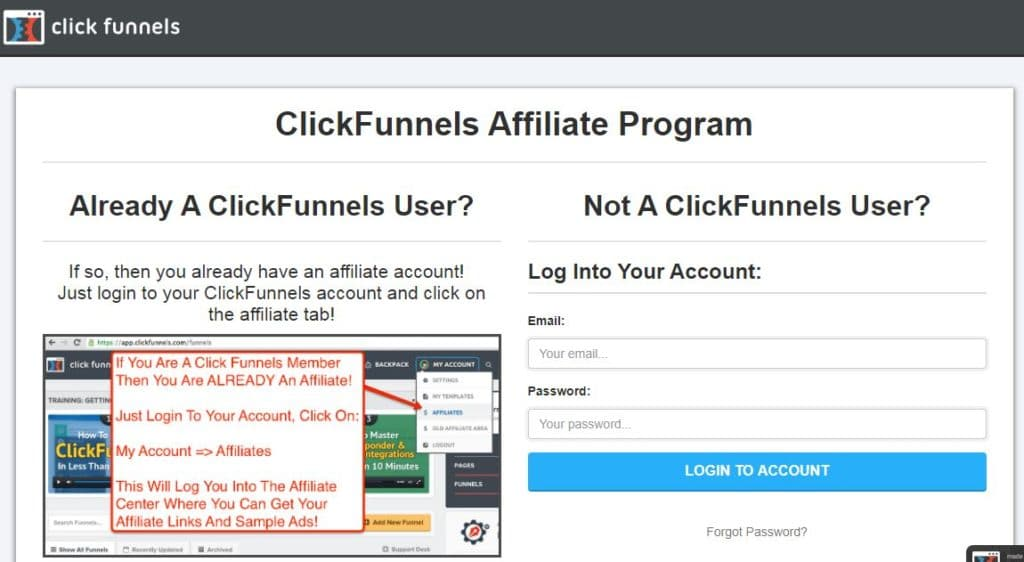 ClickFunnels Affiliate Program Networks