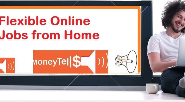 Flexible online jobs from home