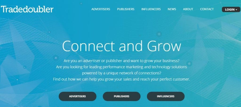 Genuine affiliate networks for bloggers - Tradedoubler