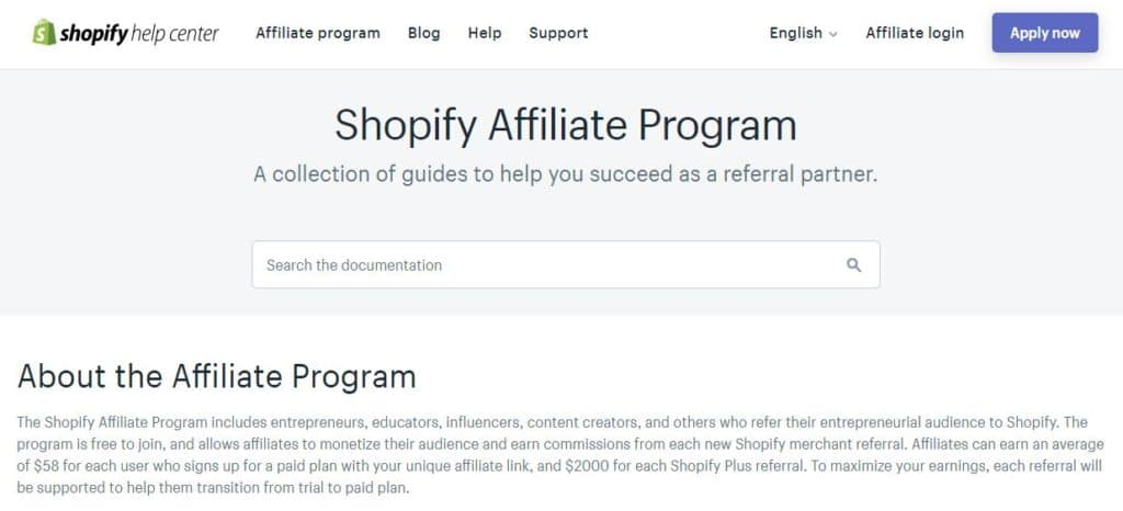 Good affiliate programs in 2020 - Shopify