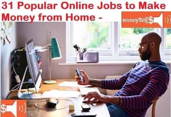 Popular Online Jobs