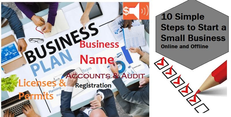 Simple Steps to Start a Small Business