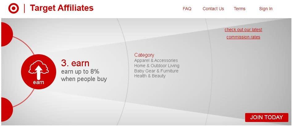 Target Affiliates Network programs