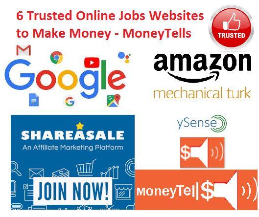 Trusted Online Jobs Websites