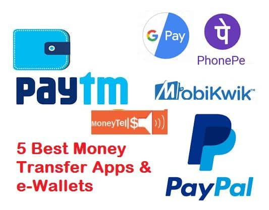 Money Transfer Apps in India