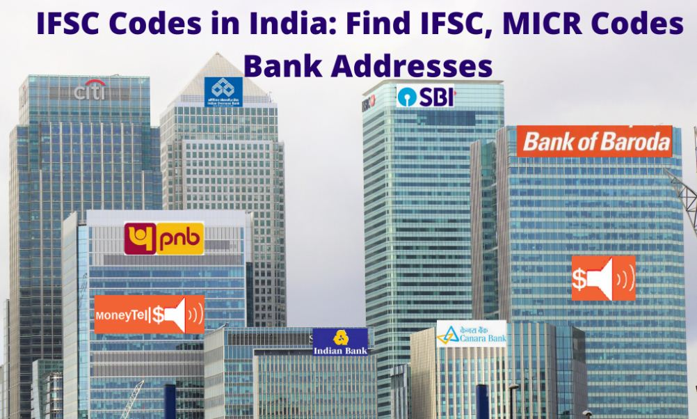 IFSC code for bank