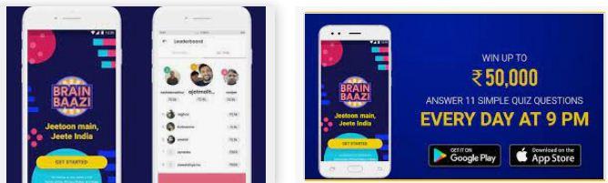 Brain Bazzi mobile app to earn cash