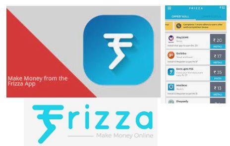 Frizza cash earning app online